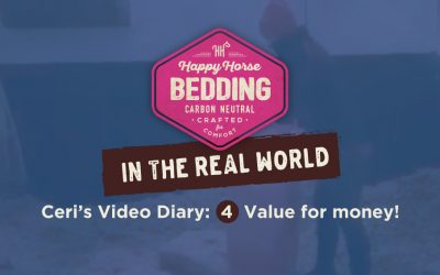 Value for Money!: Video 4. Happy Horse Bedding in the Real World