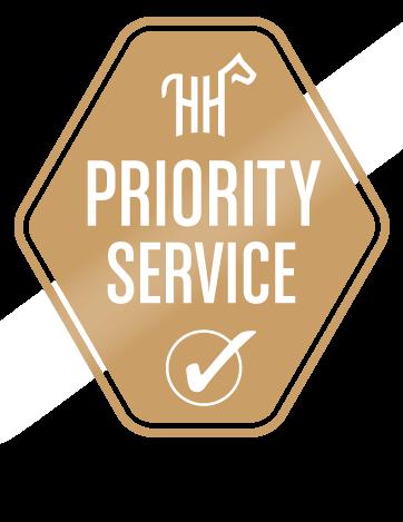 priority service logo