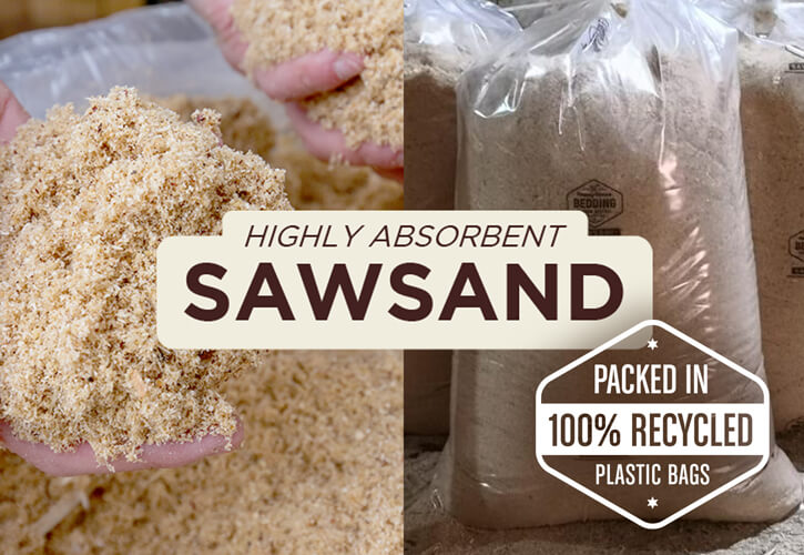 Highly Absorbent SAWSAND